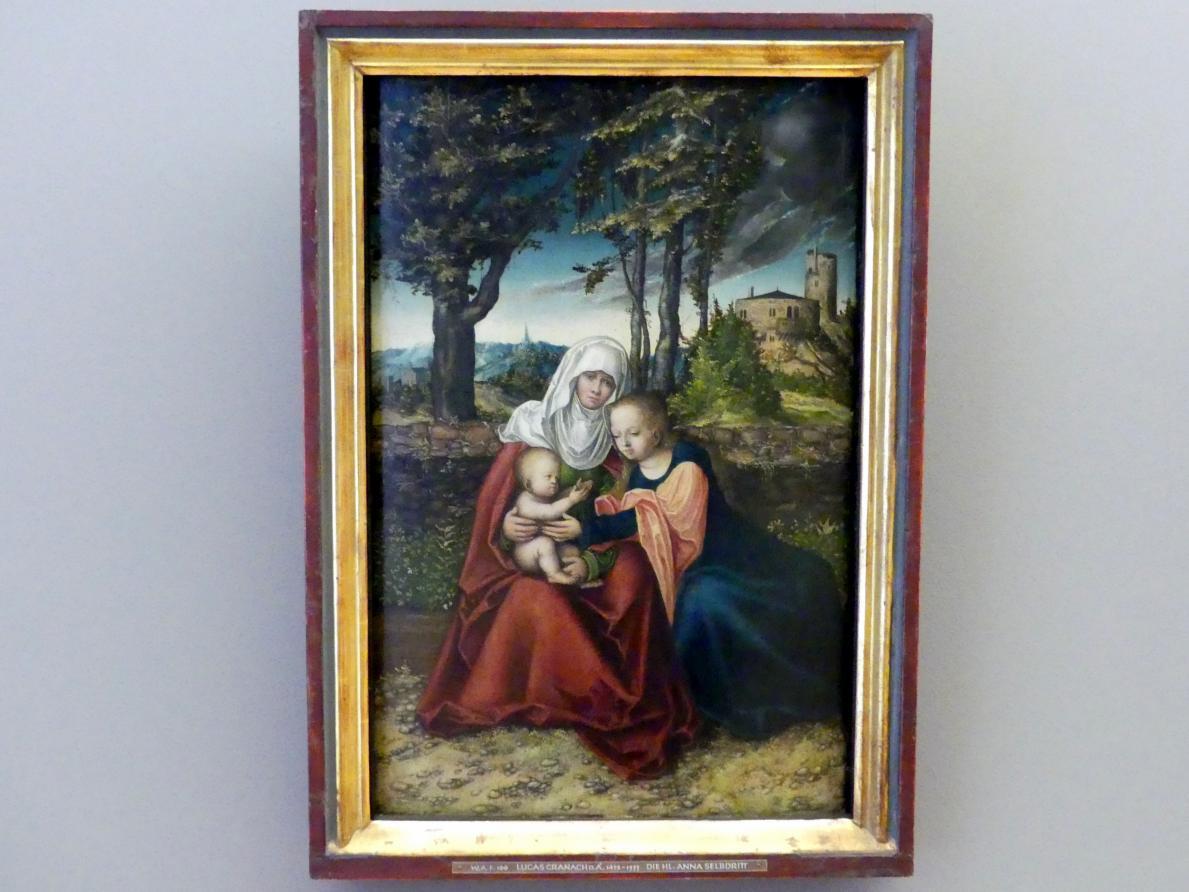 Lucas Cranach der Ältere: Hl. Anna Selbdritt, um 1516