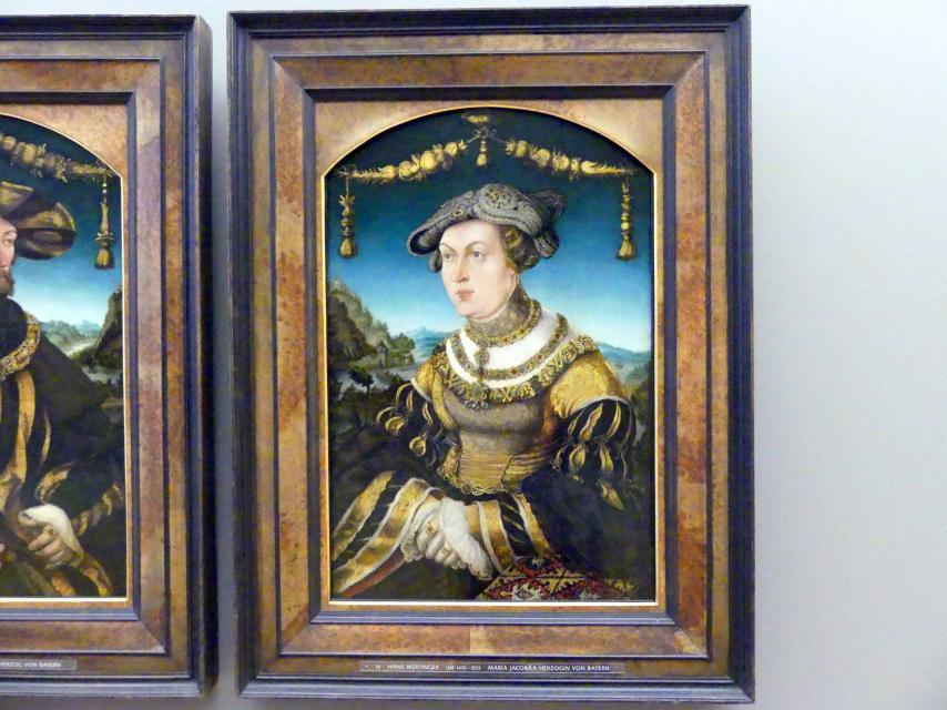 Hans Wertinger: Herzogin Maria Jacobaea von Bayern, 1526
