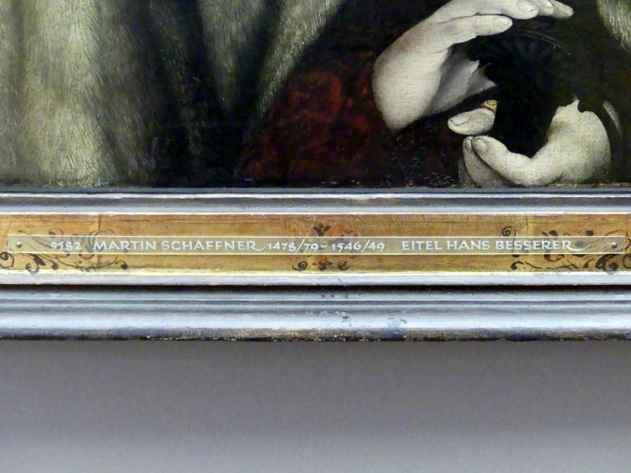 Martin Schaffner: Eitel Hans Besserer, Um 1525 - 1530
