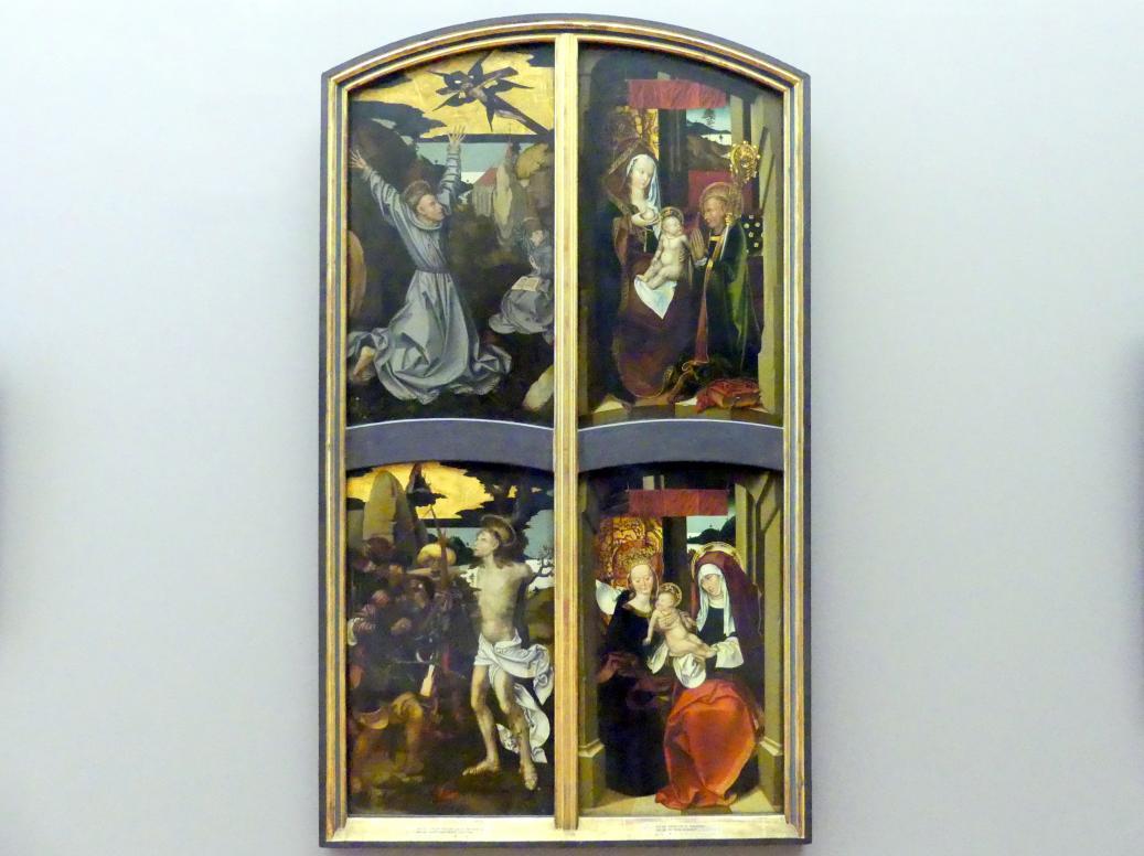 Hans Fries: Teile eines Altars, 1501