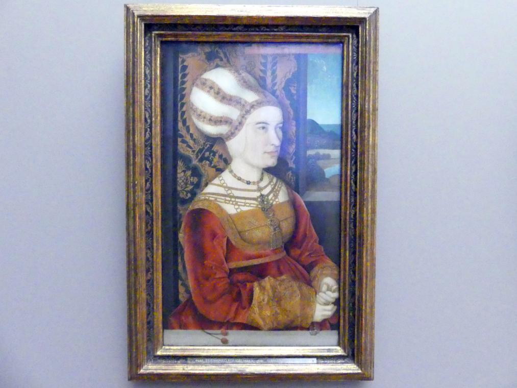 Bernhard Strigel: Sibylla von Freyberg, geb. Gossenbrot, Um 1513