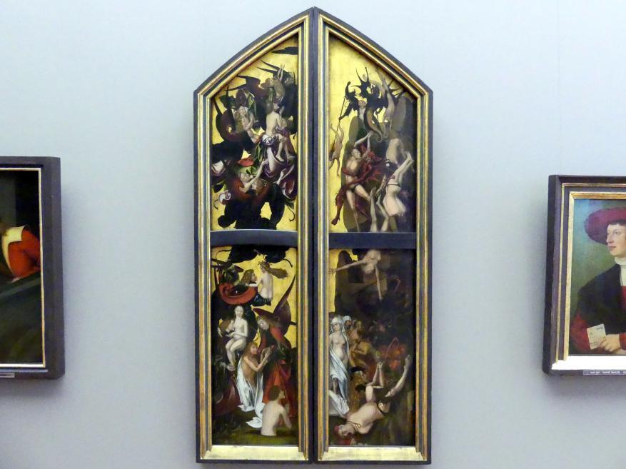 Hans Fries: Teile einer Darstellung eines Jüngsten Gerichts, 1501
