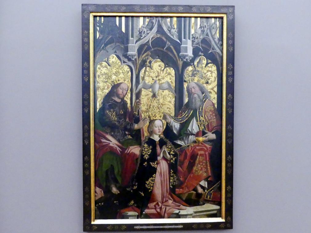 Meister von Uttenheim: Krönung Mariens, 1470 - 1480