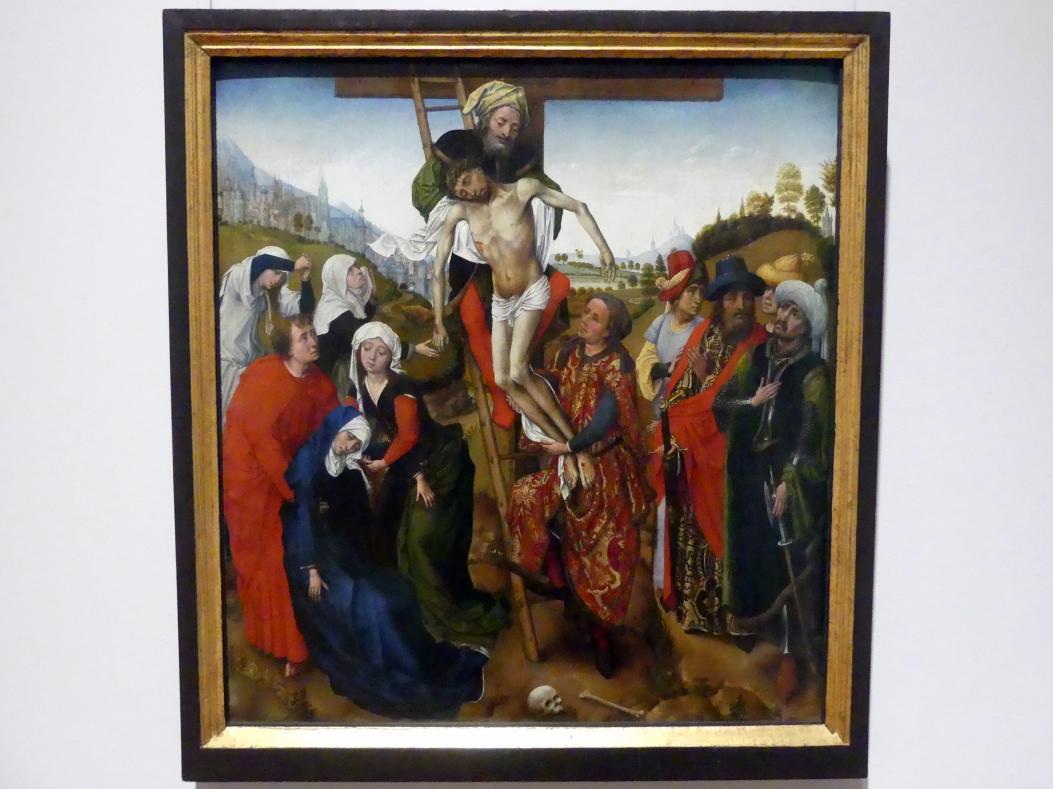 Rogier van der Weyden (Umkreis): Kreuzabnahme Christi, Mitte 15. Jhd.