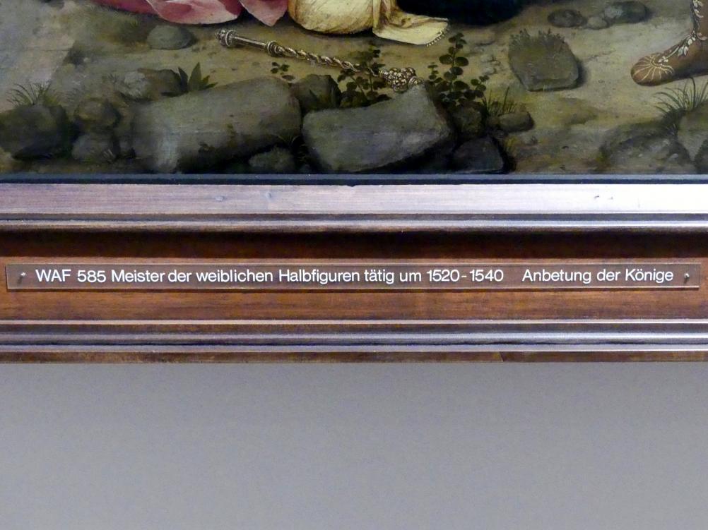 Meister der weiblichen Halbfiguren: Anbetung der Könige, um 1520 - 1540, Bild 2/2