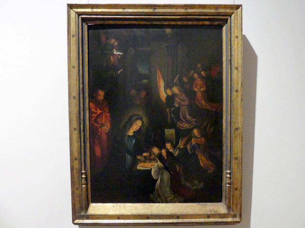 Gerard David (Kopie): Geburt Christi, Um 1530