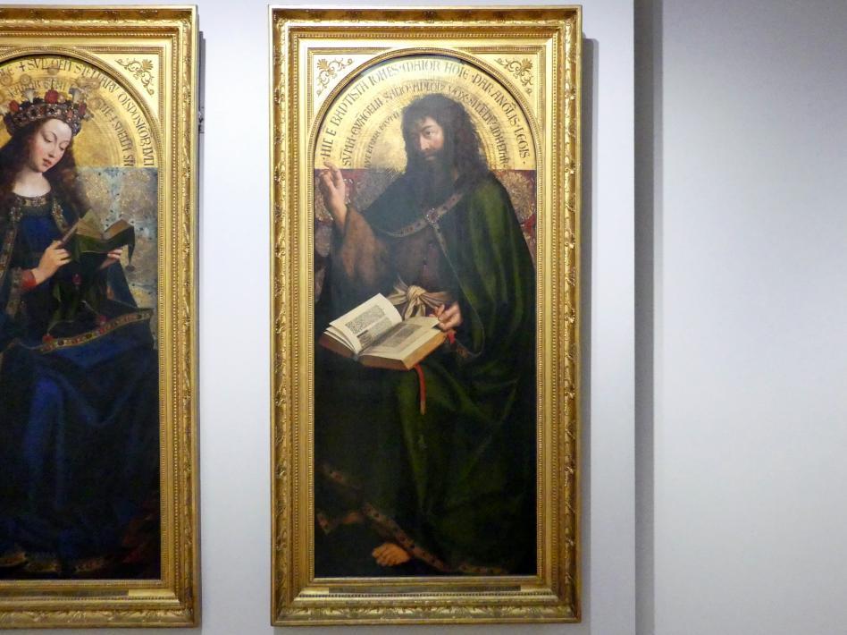 Michiel Coxcie: Johannes der Täufer, Um 1557 - 1559