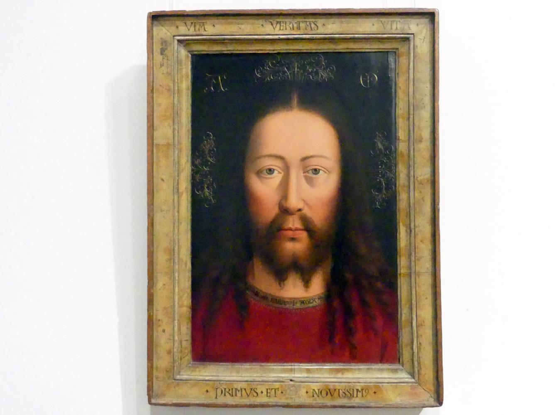 Jan van Eyck (Kopie): Das Wahre Antlitz Christi, Um 1500