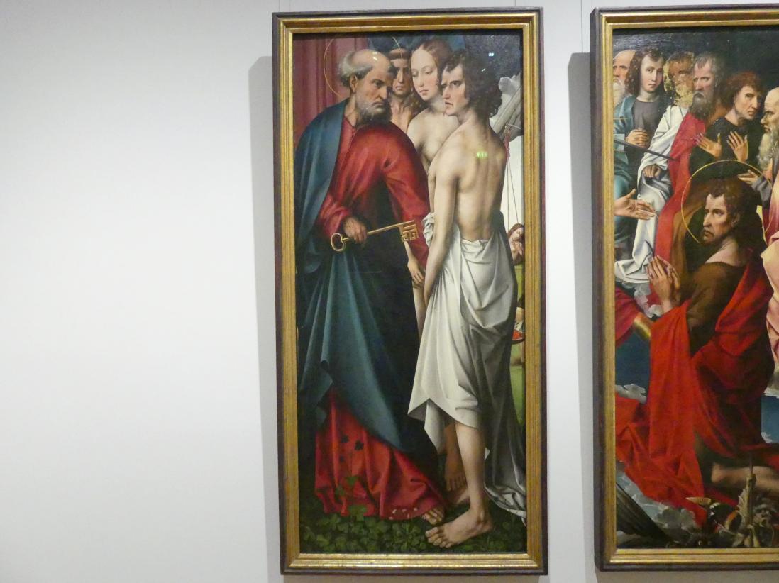 Colijn (Colyn) de Coter: Der hl. Petrus geleitet die Seligen, Vor 1510