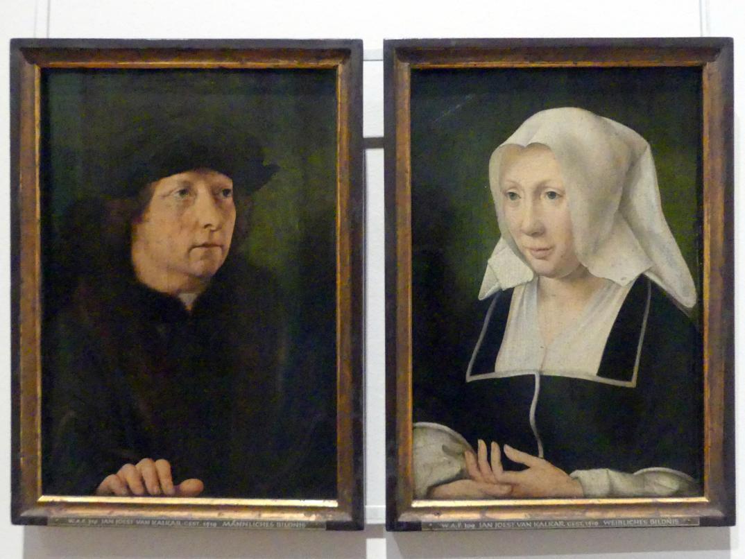 Jan Joest von Kalkar: Bildnis eines Ehepaars, Um 1510