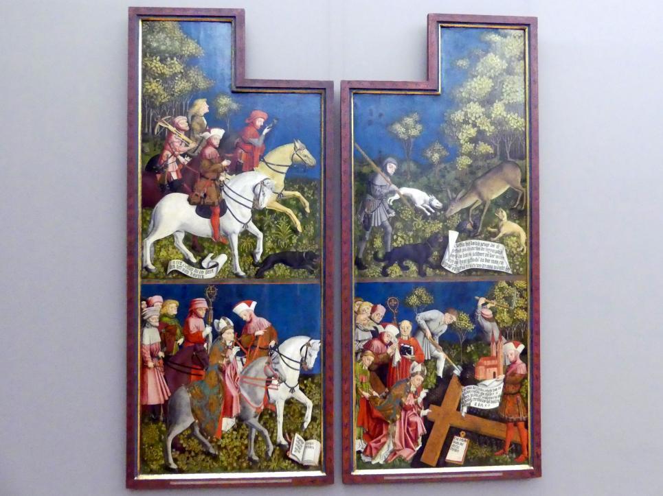 Meister der Pollinger Tafeln: Kreuzaltar, Um 1450