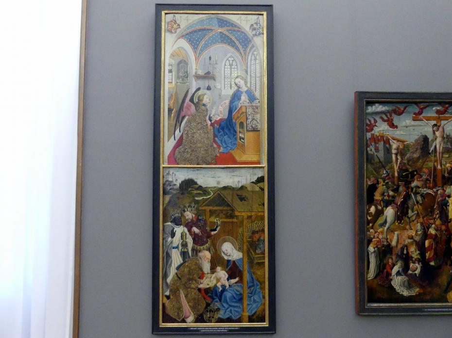 Meister der Pollinger Tafeln: Marienaltar, 1444