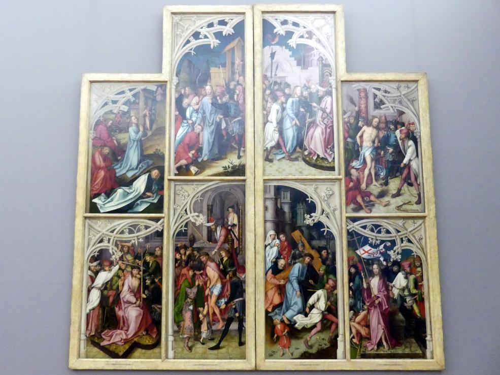 Hans Holbein der Ältere: Die Flügel des Kaisheimer Altares (Außenseiten), 1502