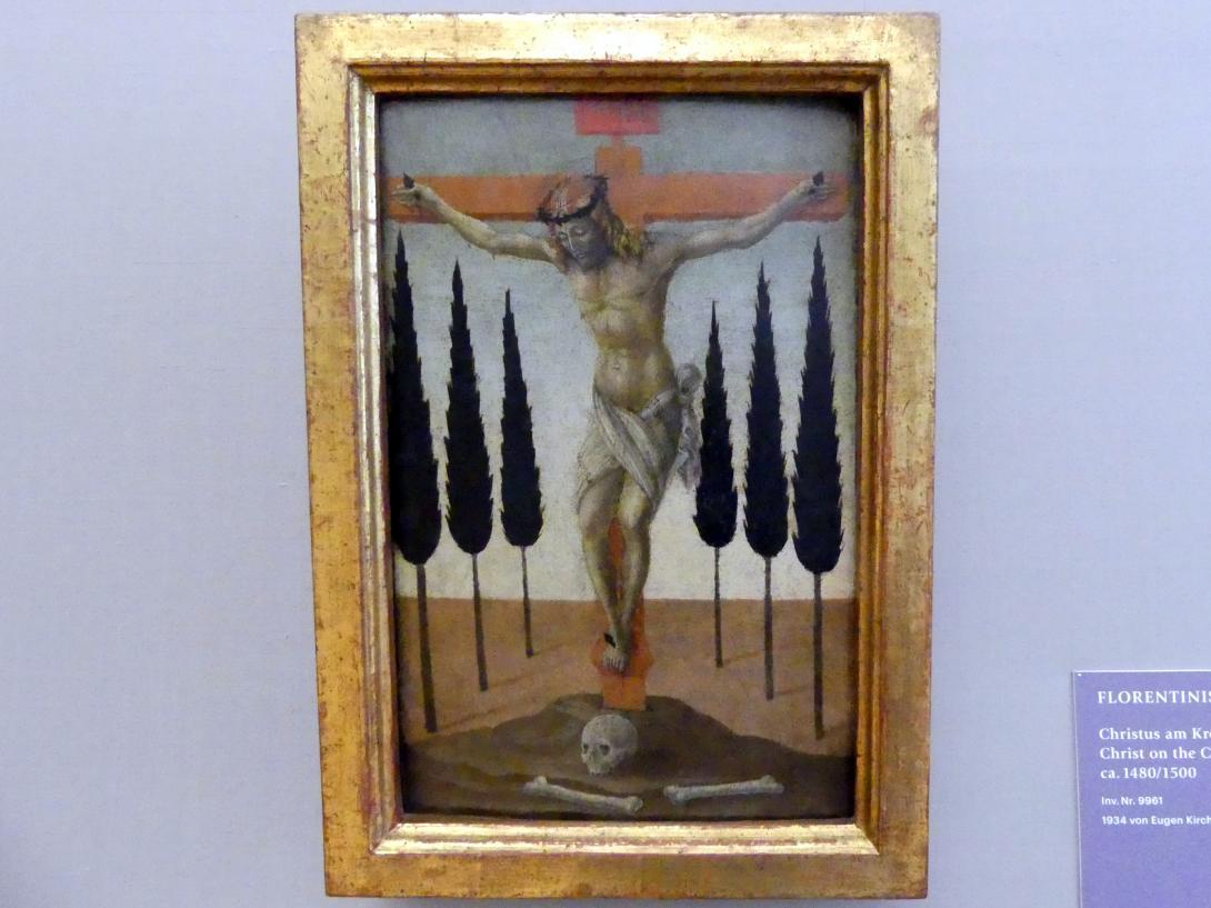 Christus am Kreuz, Um 1480 - 1500