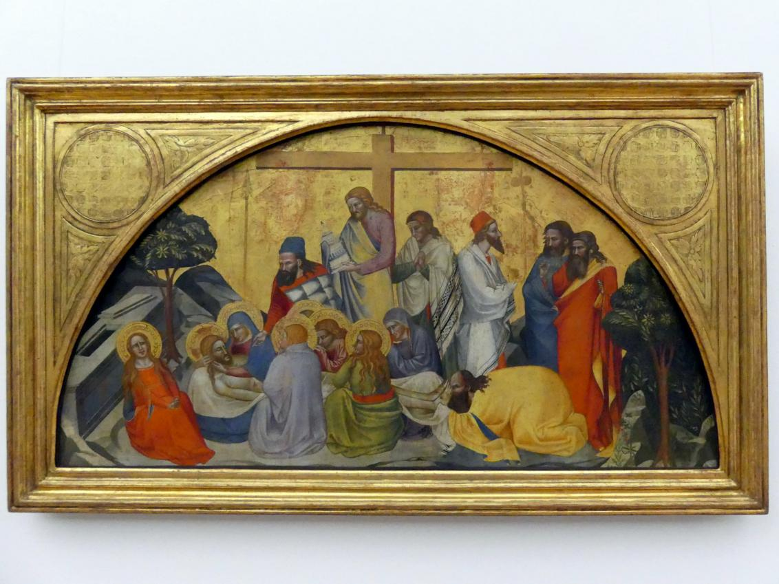 Cenni di Francesco: Beweinung Christi, um 1375