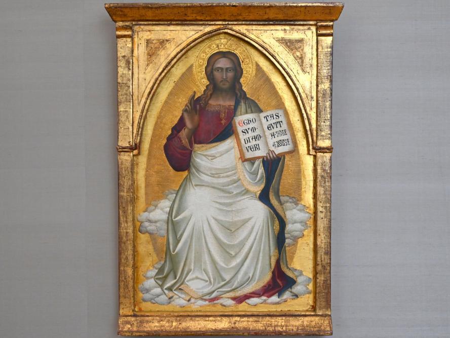 Niccolò di Pietro Gerini: Thronender Christus, Um 1383 - 1387