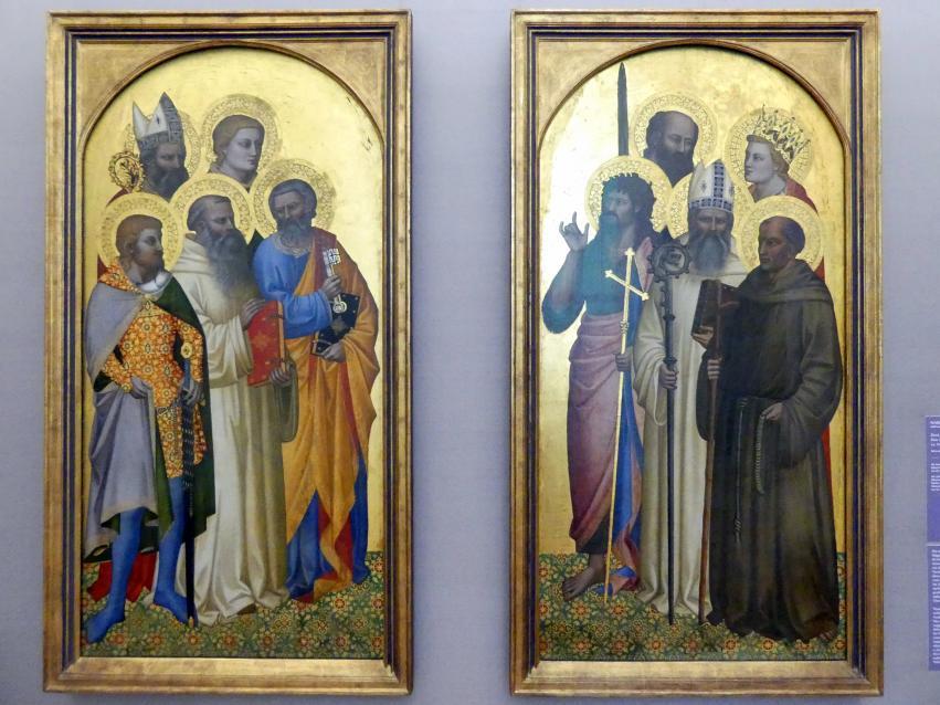 Nardo di Cione: Zwei Tafeln eines Altars, Um 1363 - 1365