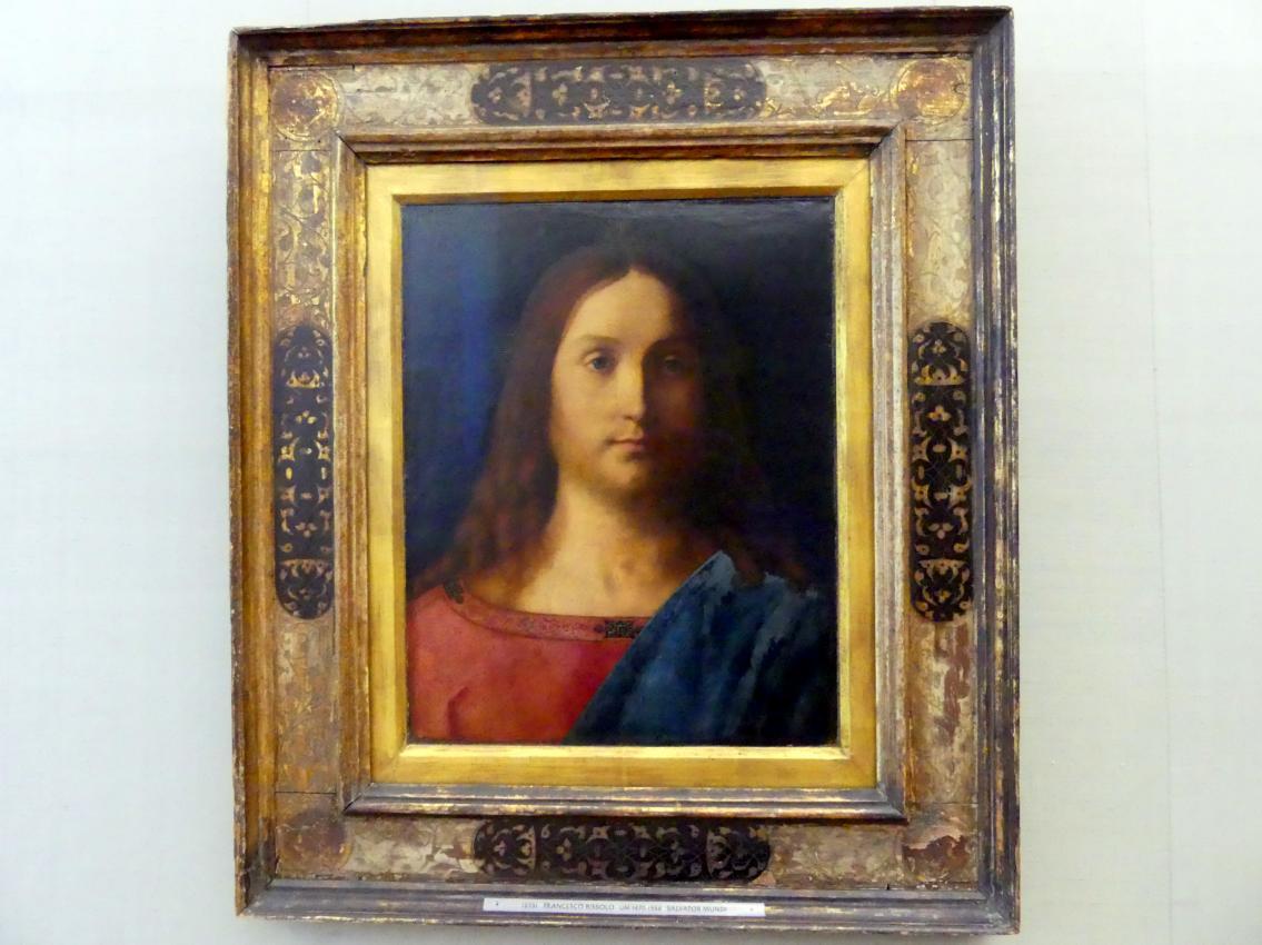 Francesco Bissolo: Salvator Mundi, Um 1510