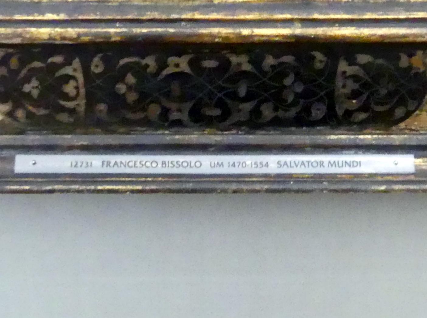 Francesco Bissolo: Salvator Mundi, um 1510, Bild 2/2