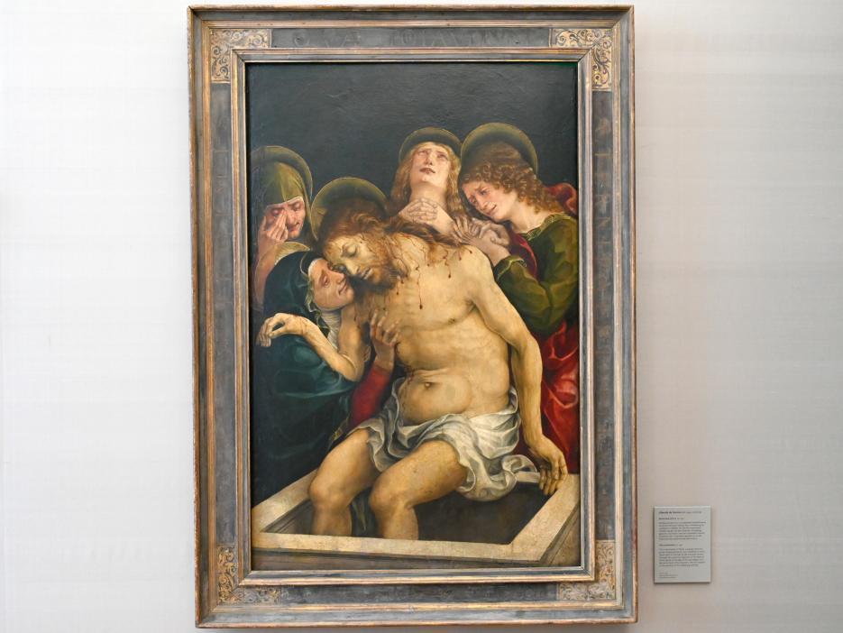 Liberale da Verona: Beweinung Christi, Um 1490