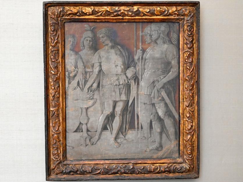 Andrea Mantegna (Umkreis): Mucius Scaevola, Um 1490