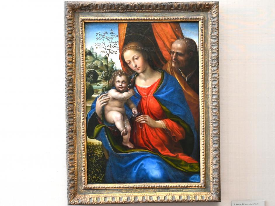 Il Sodoma (Giovanni Antonio Bazzi): Die heilige Familie, Um 1510 - 1513