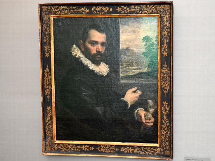 Domenico Tintoretto: Bildnis eines Bildhauers (Ascanio detto dai Christi?), Um 1590