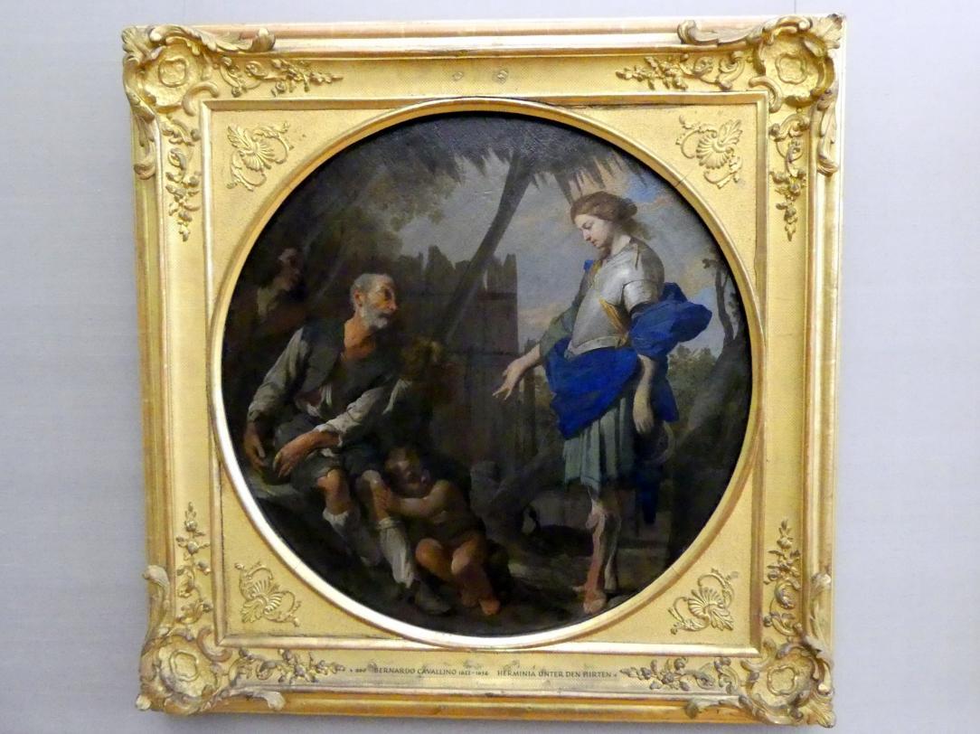 Bernardo Cavallino: Erminia bei den Hirten, um 1650