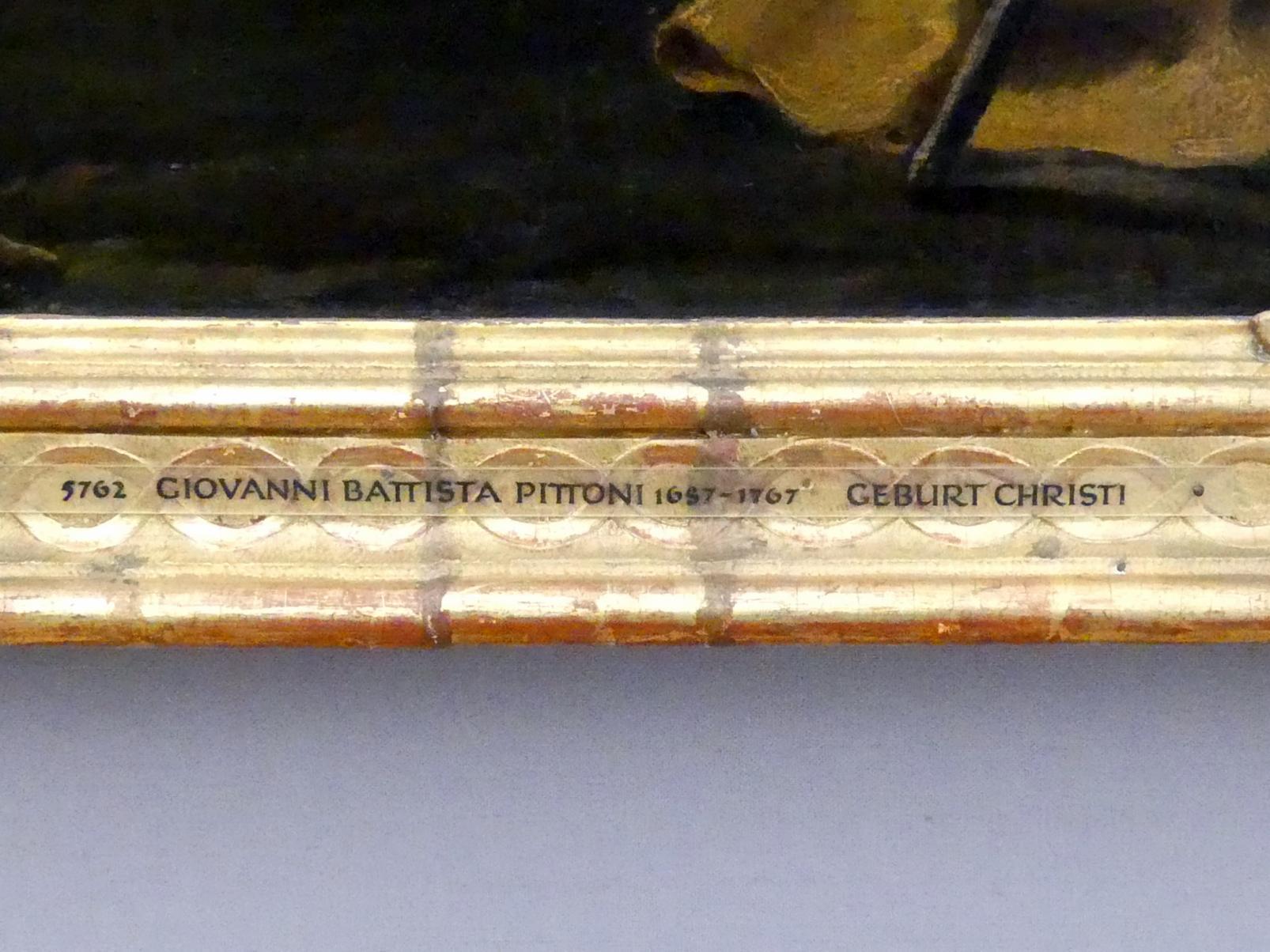 Giovanni Battista Pittoni: Die Geburt Christi, um 1735, Bild 2/2