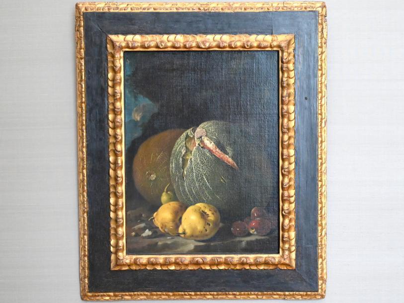 Luis Eugenio Meléndez: Melonen, Quitten und Pflaumen, Um 1765 - 1770