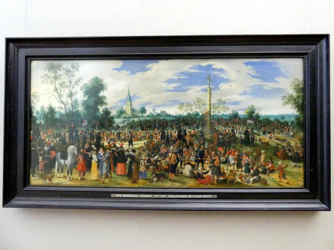 Sebastian Vrancx: Das Hagelkreuzfest in Ekeren, 1622
