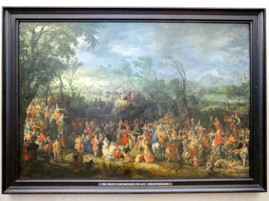 David Vinckboons: Kreuztragung Christi (Der Gang nach Golgatha), 1611