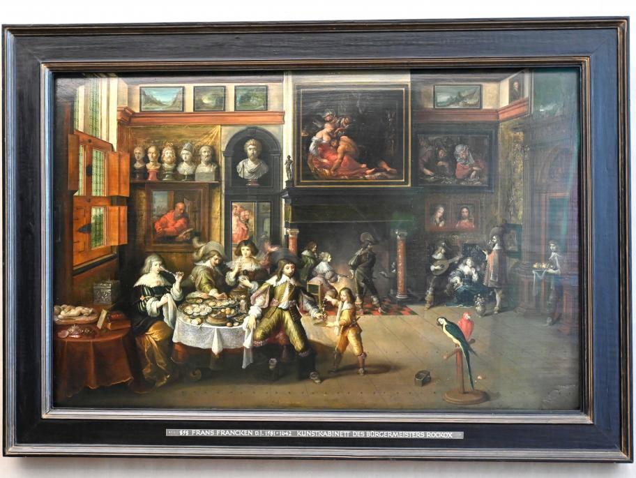 Frans Francken der Jüngere (Frans II Francken): Gastmahl im Hause des Bürgermeisters Rockox, Um 1630 - 1635