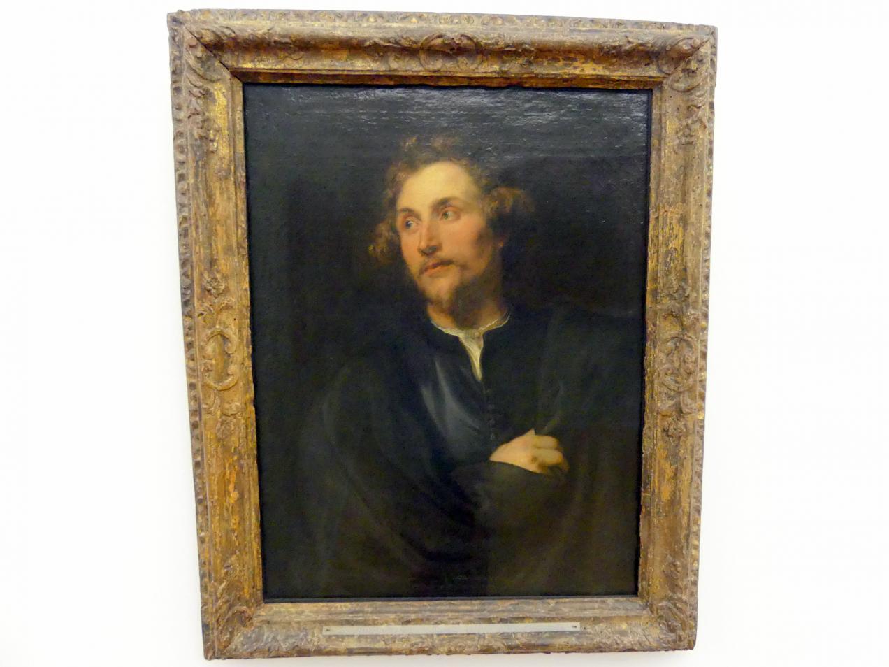 Anthonis (Anton) van Dyck: Bildnis des Bildhauers Georg Petel, 1627 - 1628