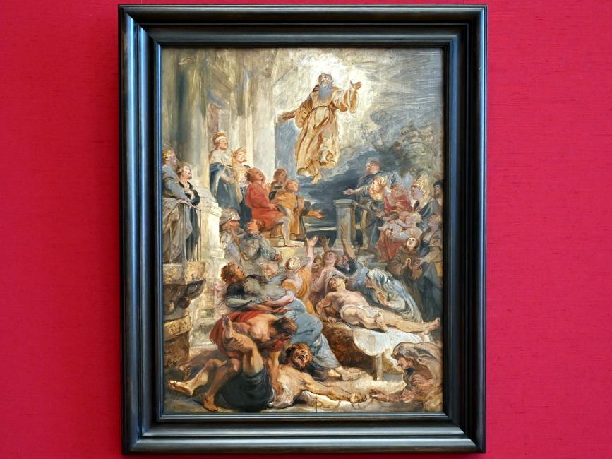 Peter Paul Rubens: Das Wunder des hl. Franz von Paula, um 1628
