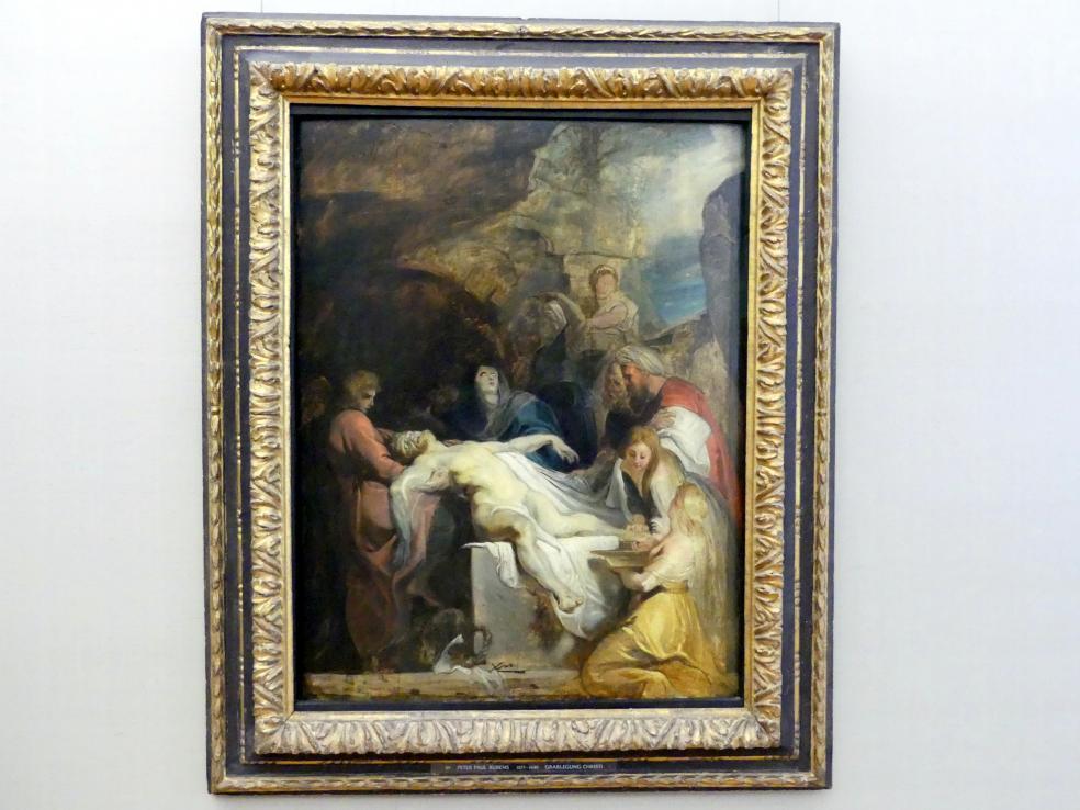 Peter Paul Rubens: Grablegung Christi, Um 1616