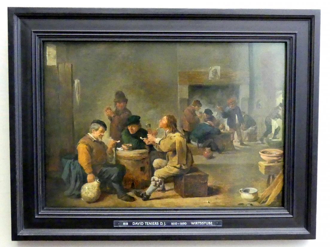 David Teniers der Jüngere: Bauernstube, Um 1639 - 1640