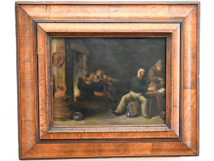 David Teniers der Jüngere: Bauernschenke, um 1633