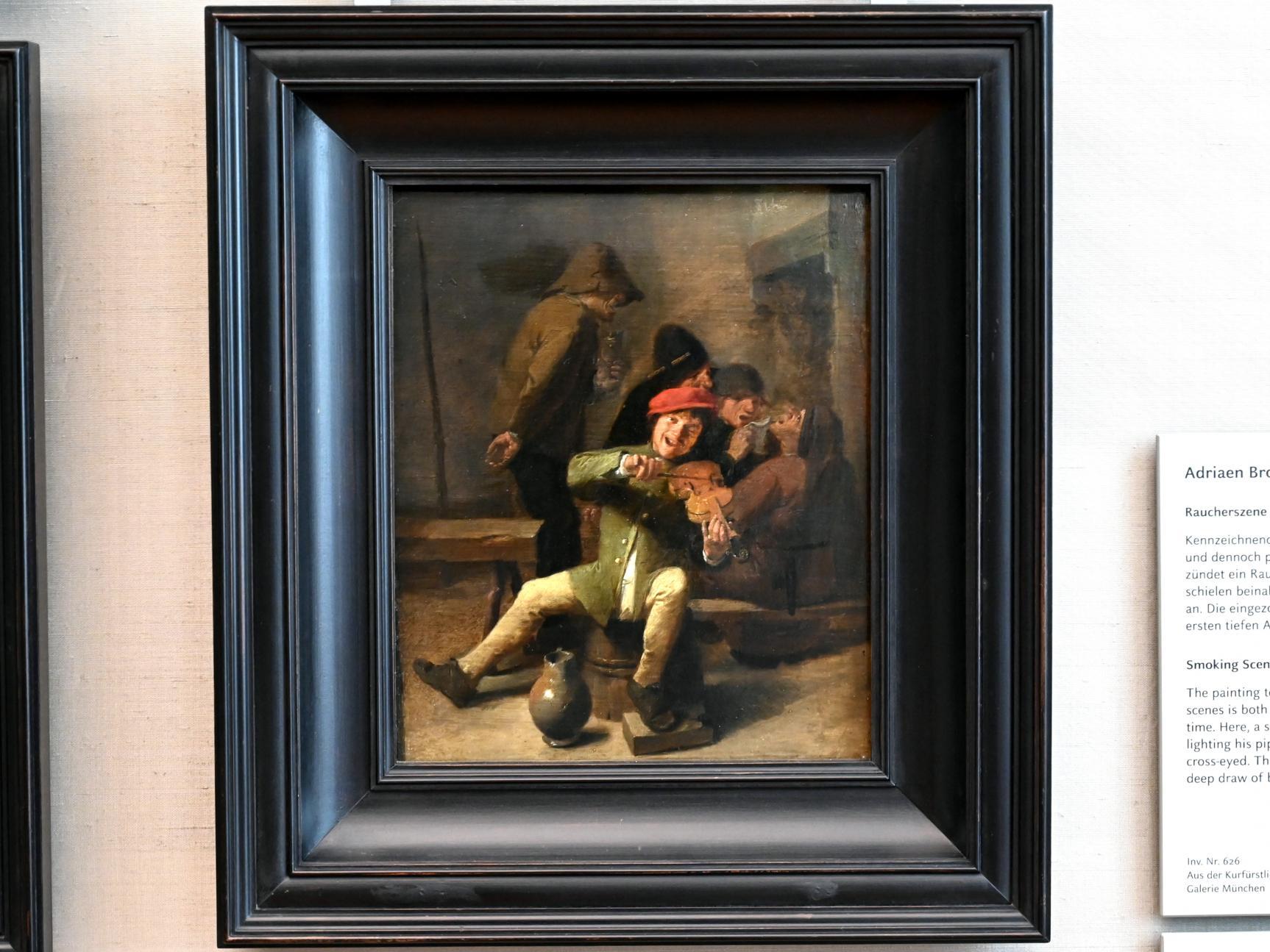 Adriaen Brouwer: Dorfmusikanten (Das Gehör), 1625 - 1638