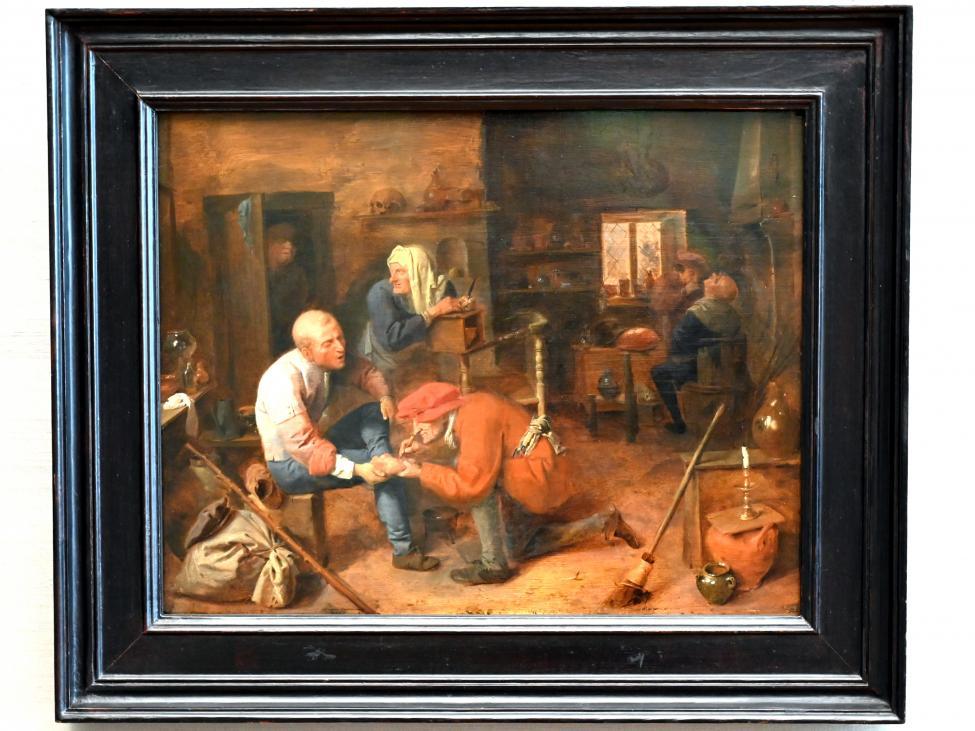 Adriaen Brouwer: Dorfbaderstube, Um 1632 - 1633