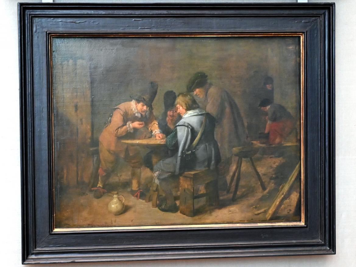 Adriaen Brouwer: Würfelnde Soldaten in einer Schenke, Um 1636 - 1638
