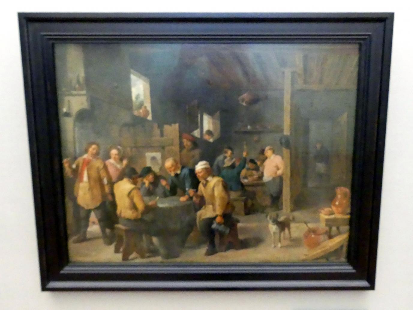 David Teniers der Jüngere: Zechstube, 1643