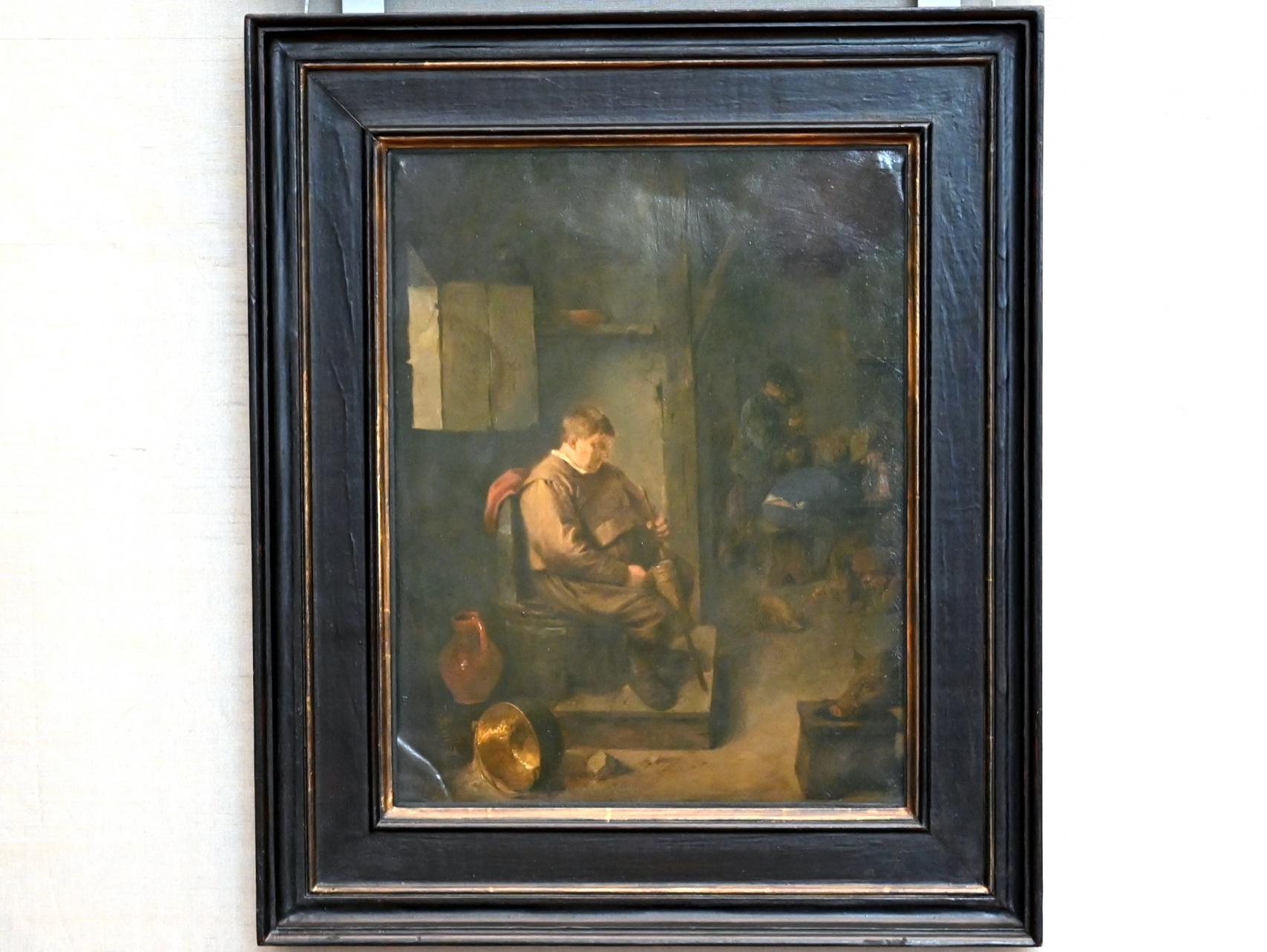 Adriaen Brouwer: Der eingeschlafene Wirt (Phlegmaticus), Um 1633