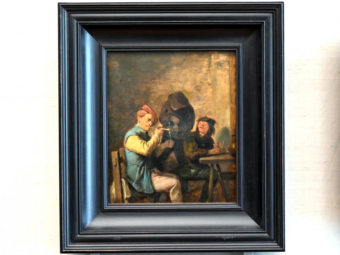 Adriaen Brouwer: Raucherszene (Der Geschmack), 1625 - 1638
