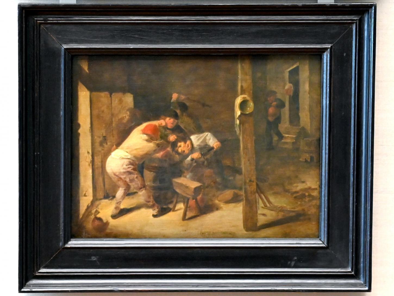 Adriaen Brouwer: Keilerei zwischen fünf Bauern, 1625 - 1638