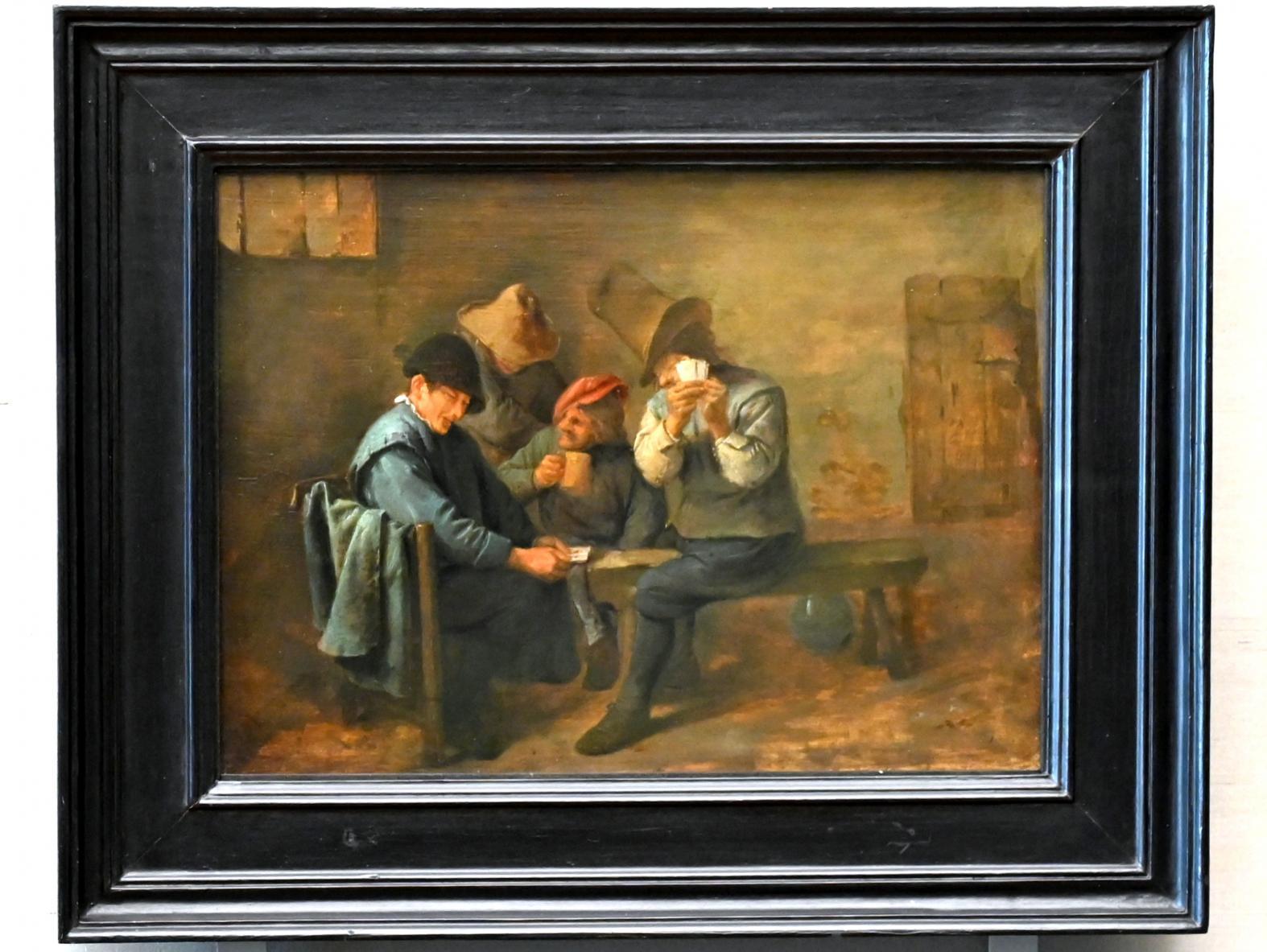 Adriaen Brouwer: Kartenspielende Bauern, 1625 - 1638