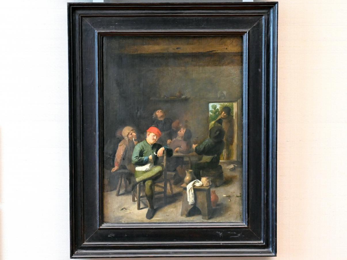 Adriaen Brouwer: Rauchende und trinkende Bauern, 1625 - 1638