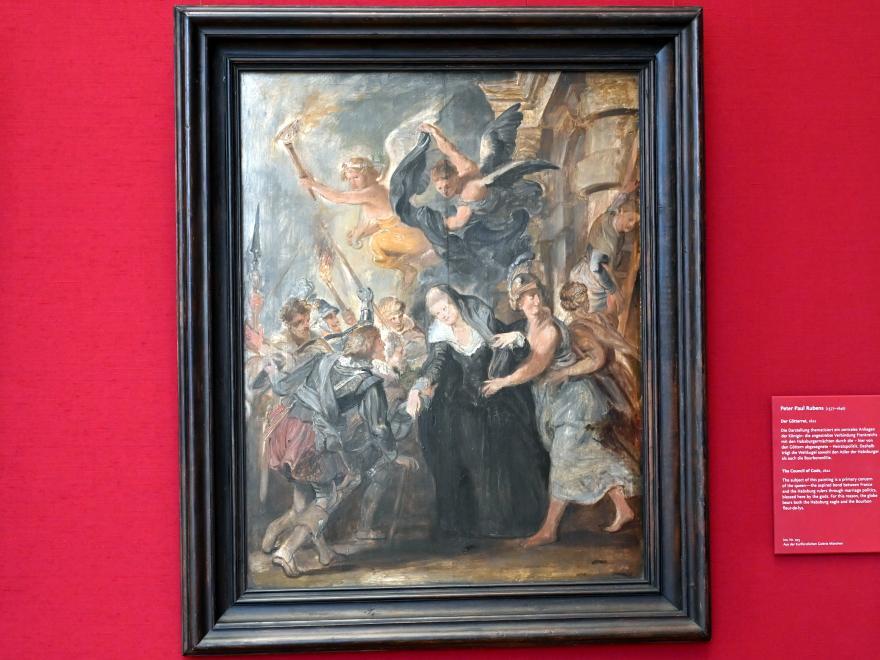 Peter Paul Rubens: Die Flucht von Blois (Skizze zum Medici-Zyklus), 1622
