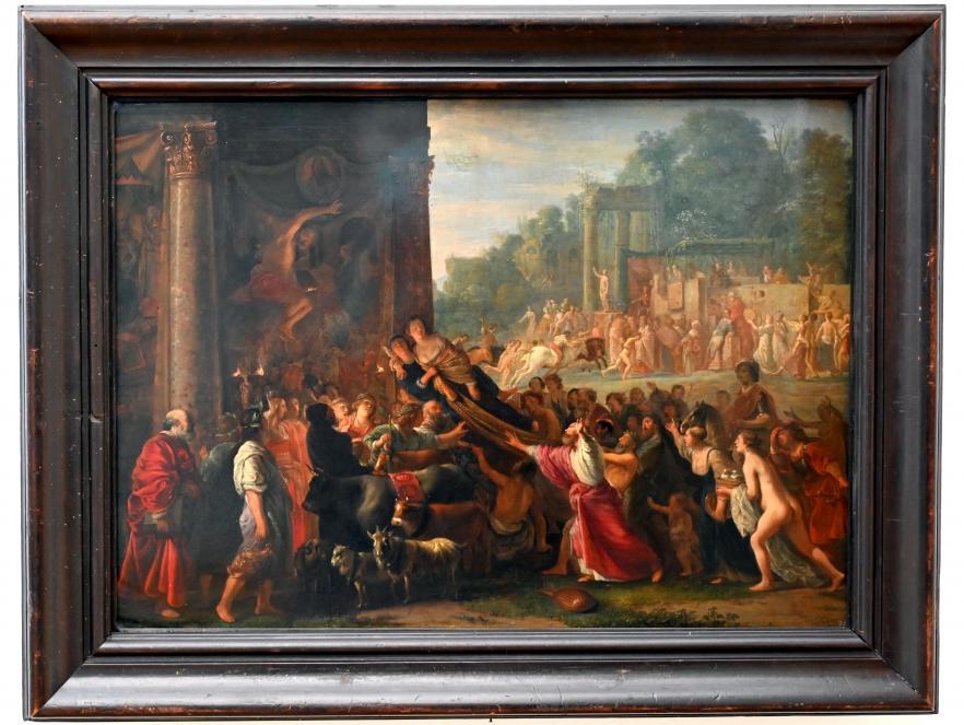 Nikolaus Knüpfer: Il Contento (Die Zufriedenheit), Um 1651