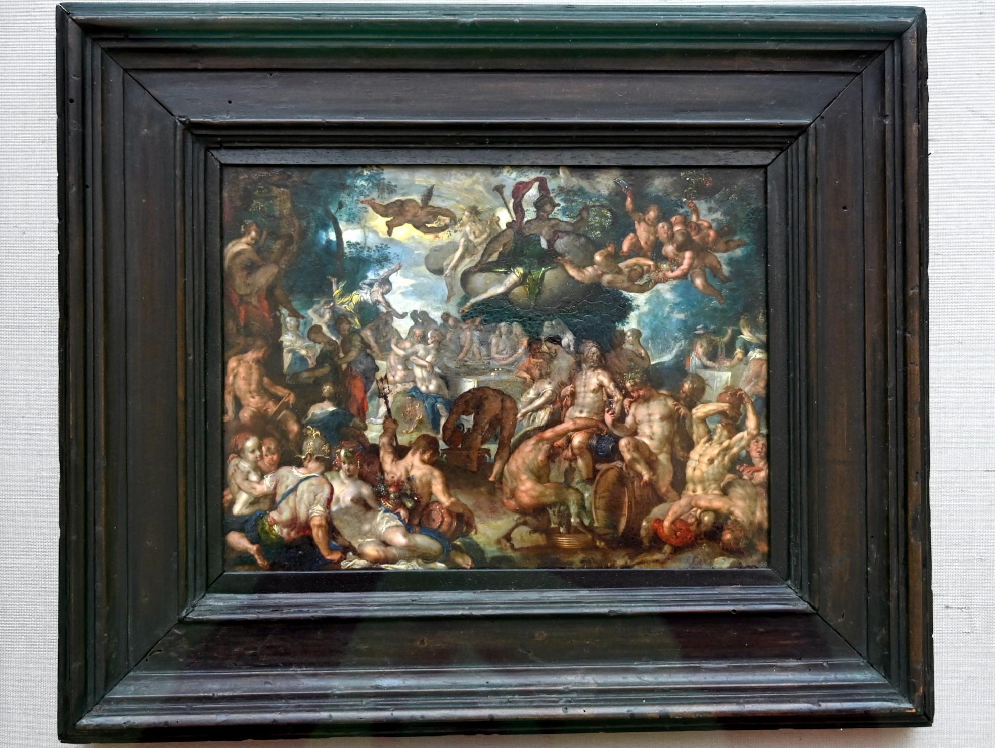 Joachim Anthonisz. Wtewael: Die Hochzeit von Peleus und Thetis, Um 1592 - 1600